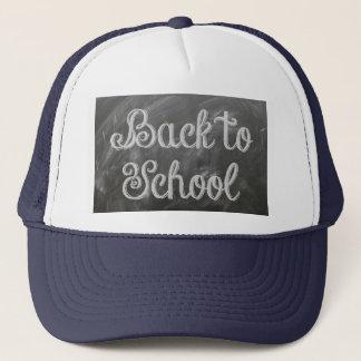 De nouveau à l'école casquette