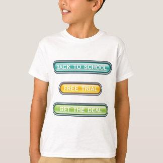 De nouveau à l'essai gratuit d'école obtenez les t-shirts
