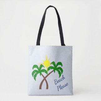 De palmier à plage sac fourre-tout mignon svp