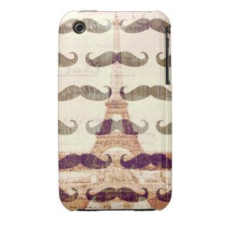 De Paris avec la moustache Coques iPhone 3