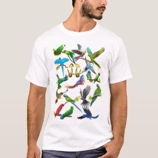 De perroquets T-shirt en abondance