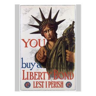 De peur que je périsse la guerre mondiale 2 carte postale