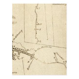 De Poughkeepsie vers Albany 14 Carte Postale