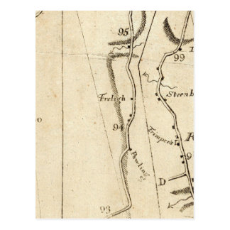 De Poughkeepsie vers Albany 21 Carte Postale