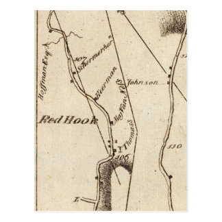 De Poughkeepsie vers Albany 22 Carte Postale