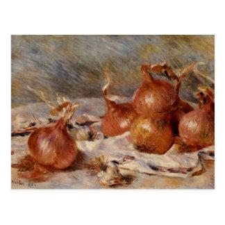 De Renoir toujours la vie aux oignons (1881) Cartes Postales