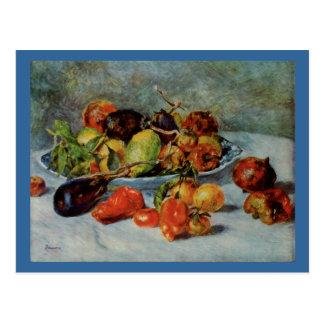 De Renoir toujours la vie avec Fruit Cartes Postales