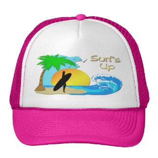 De ressacs casquette de fille de surfer -