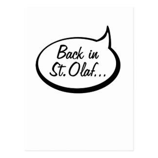 De retour dans St Olaf… Carte Postale