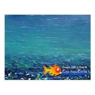 © de rêve, de plan et de piqué - carte postale