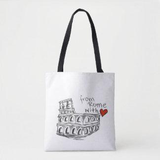De Rome avec le sac d'amour