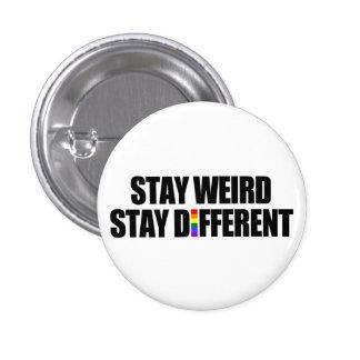 De séjour étrange de séjour différent badges