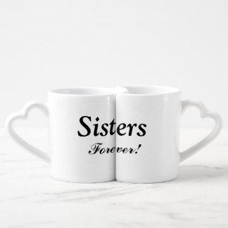 """De """"soeurs ensemble de tasse d'emboîtement pour"""