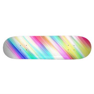 ~ de SPECTRE (un plaisir coloré par arc-en-ciel !) Skateboard Old School 18,1 Cm