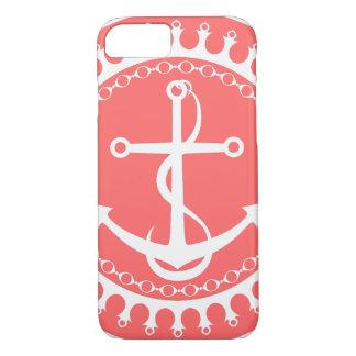 De StellaRoot d'ancre rose de très bon goût vers Coque iPhone 7