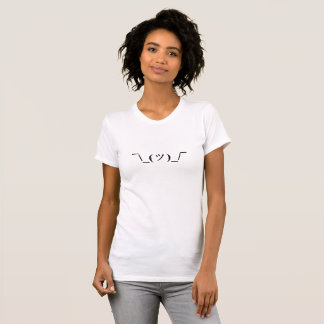 ¯ de T-shirt d'Emoji de Shrug \ _(ツ) _/¯
