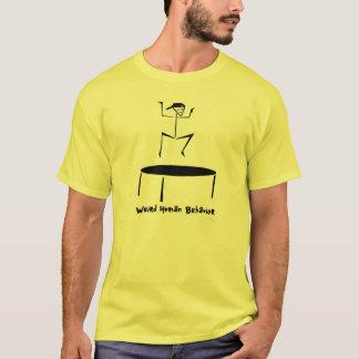 De T-shirt étrange de type de Trampolin de