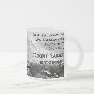 De toutes les montagnes du feu… Le mont Rainier Tasse Givré