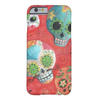 De trois jours des crânes morts coque iPhone 6 barely there