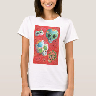 De trois jours des crânes morts t-shirt