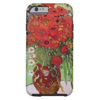 De Van Gogh toujours pavots et marguerites rouges Coque iPhone 6 Tough
