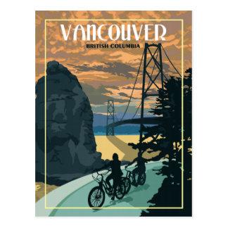 De Vancouver carte postale vintage de voyage AVANT