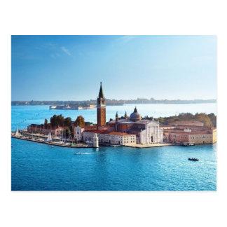 De Venise avec la carte postale d'amour