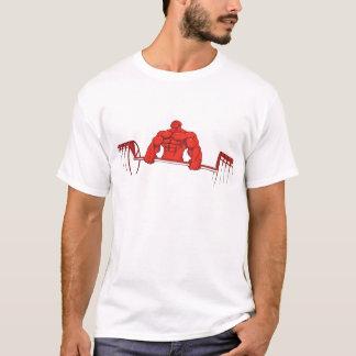 Deadlift - chemise de culturisme - rouge t-shirt