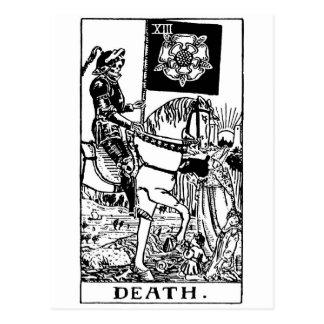 Death de tarot ' cartes postales