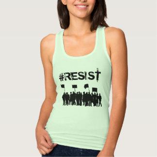 """Débardeur Anti-Atout de protestataires de #Resist"""" politique"""