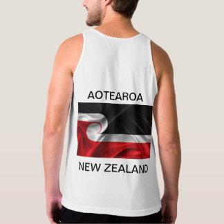 Débardeur Aotearoa Nouvelle Zélande de drapeau de Tino