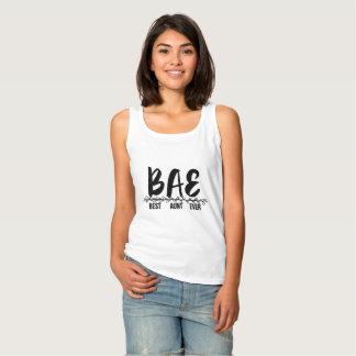Débardeur BAE, la meilleure chemise drôle de tante Ever