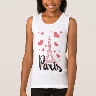 Débardeur Basic Fille Paris