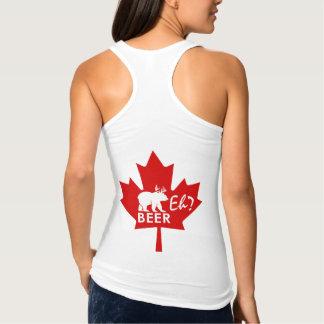 Débardeur Bière de feuille d'érable de jour du Canada hein ?