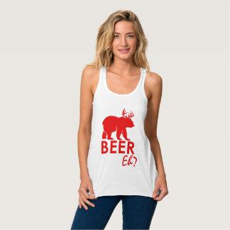 Débardeur Bière faite sur commande de jour du Canada hein ?