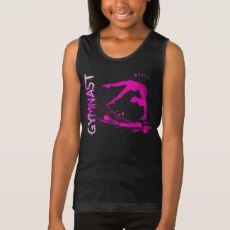 Débardeur en jersey fin pour filles - Logo Gymnast