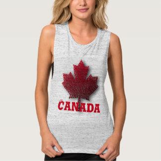 Débardeur Chemise faite sur commande de jour du Canada