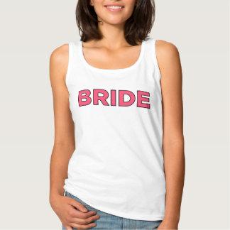 Débardeur Chemise rose   de jeune mariée nuptiale