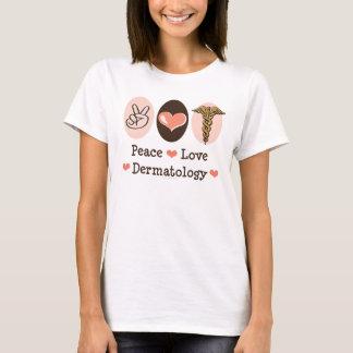 Débardeur de dermatologie d'amour de paix