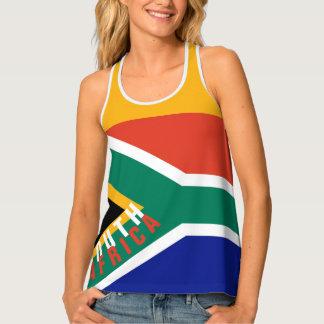 Débardeur de drapeau de l'Afrique du Sud |