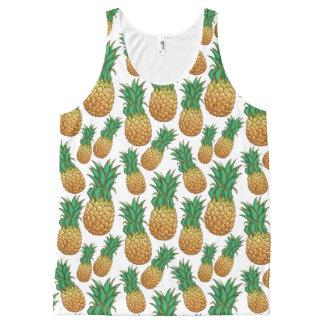 Débardeur de motif d'ananas