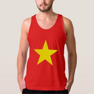 Débardeur d'hommes de drapeau du Vietnam