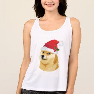 Débardeur Doge de Noël - doge de père Noël - chien de Noël