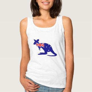 Débardeur Drapeau australien - kangourou