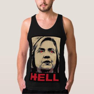 Débardeur Enfer tordu de Hillary Clinton - Anti-Hillary