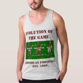 Débardeur Évolution du jeu--Football américain