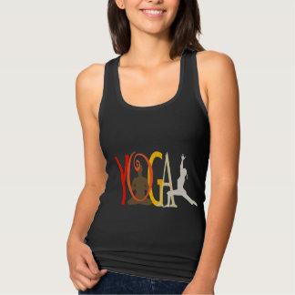Débardeur Instructeur de yoga de pièce en t de gymnase de