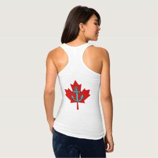 Débardeur Itinéraire de phare de chemise du Canada d'ancre