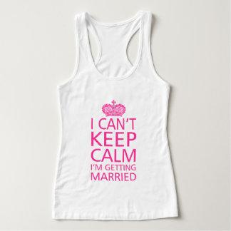 Débardeur Je ne peux pas garder la palourde que je me marie