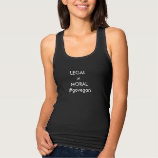 Débardeur juridique ne signifie pas sa morale